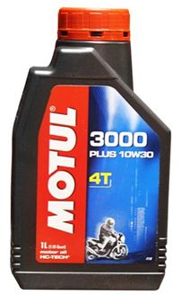 Picture of MOTUL 3000 10W30 4T 1L