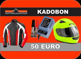 Afbeelding van KADOBON MOTORKLEDINGLIJN 50 EURO